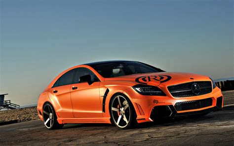 orange mercedes orange vorsteiner mercedes e class