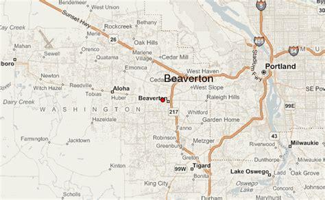 map of oregon beaverton beaverton location guide