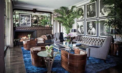 Futuristic Living Room by Art Deco Interior Design Art Deco Style