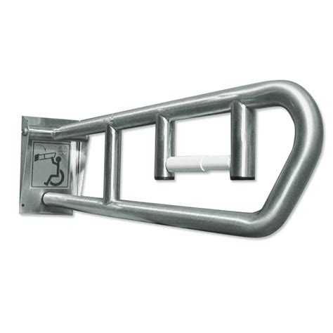 swing up grab bars bradley swing up grab bar model 8370 103 w dispenser