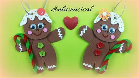 imagenes navidras en goma eva galleta de jengibre para decorar tu 225 rbol de navidad el