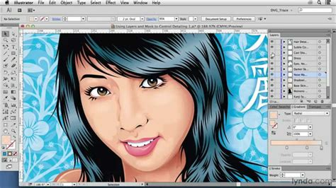 vector art photoshop cs5 tutorial vector drawing tutorial using layers and masks to control