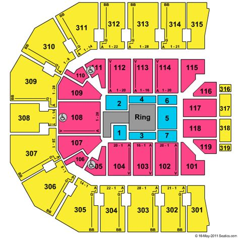 O2 London Floor Plan john paul jones arena seating chart