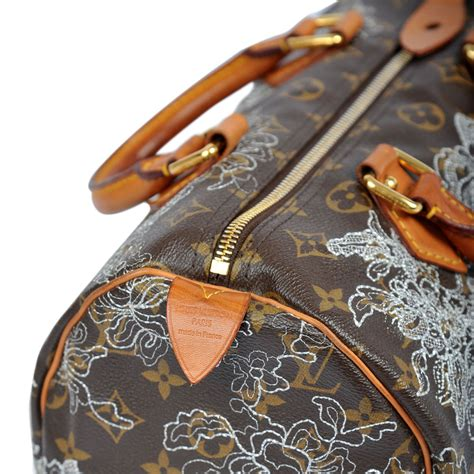 Louis Vuitton Limited Edition 1 louis vuitton limited edition dentelle speedy 30