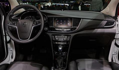 opel mokka interior 2017 2017 opel mokka x redesign changes specs release date