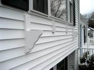 Window Boxes For Vinyl Siding - how to build a picture window sized window box on vinyl siding