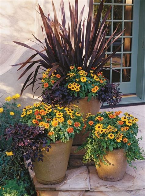 Patio Pots With Plants Favorite Fall Planter Ideas Four Generations One Roof