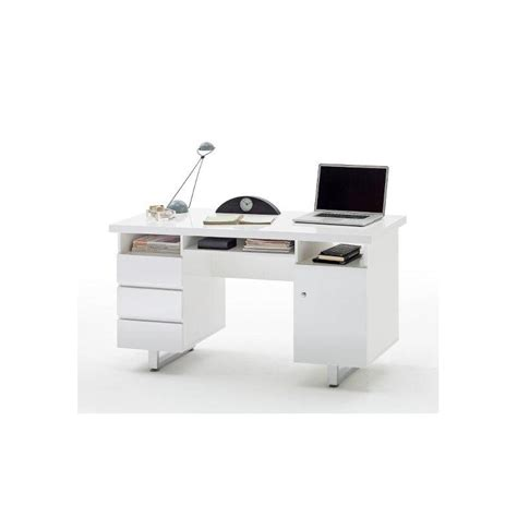 Sydney Ii White Lacquered Computer Desk Office Sena Home Office Desks Sydney