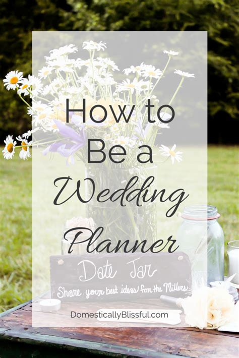 wedding planner how to become a wedding planner