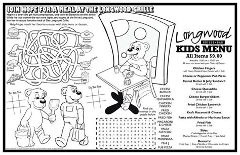 coloring books fully customized colorable placemat