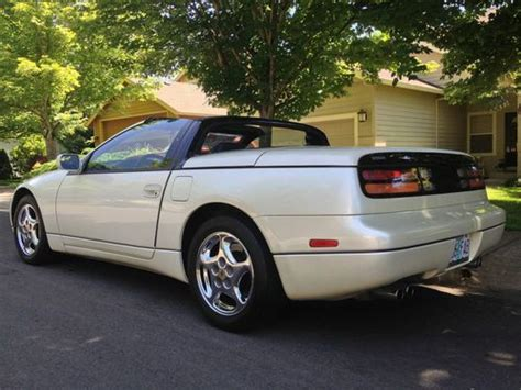 nissan convertible white find used nissan 300zx convertible roadster white with