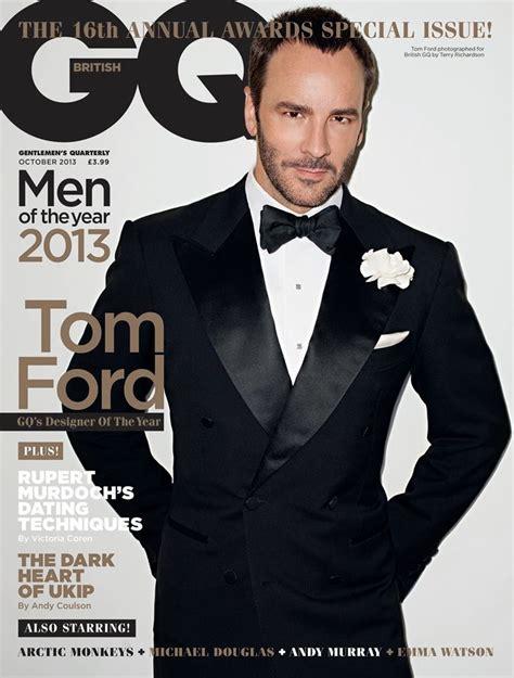 who is tom ford designer fashion 2013 gq designer of the