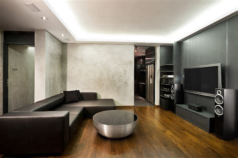 futuristic living room living room