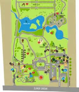 Directions To Botanic Gardens Interactive Garden Map Testing Toledo Botanical Garden