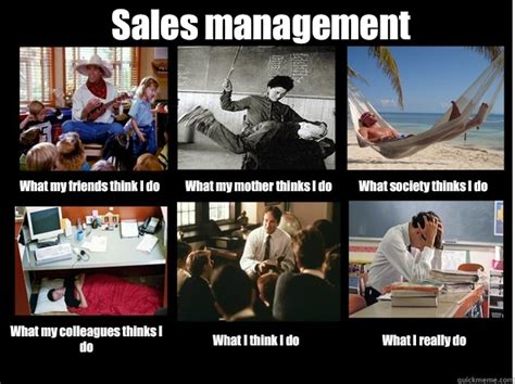 Sales Meme - sales management what my friends think i do what my mother