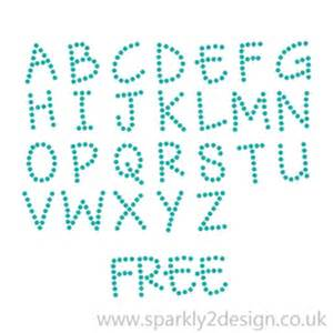Rhinestone Templates Free by Free Rhinestone Andy Alphabet Patterns