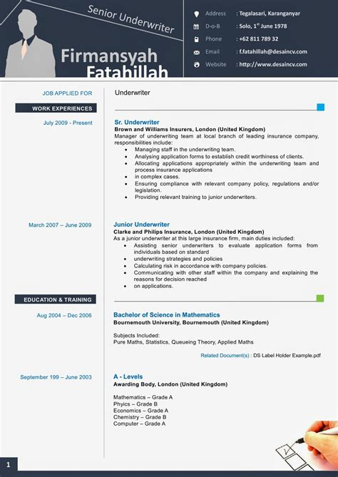 Resume Templates For Word 2010 by Resume Templates Microsoft Word 2010 Resume Badak