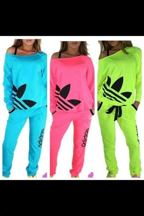 adidas neon color tracksuit sweatsuit neon green