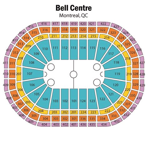 bell center seating chart montreal canadiens vs toronto maple leafs february 12