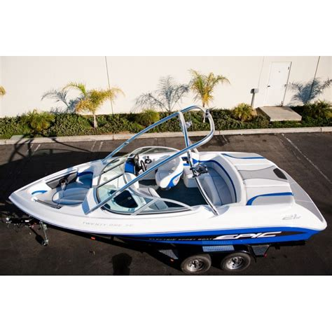 epic pontoon boats epic ev s all electric speed boat sexy plexy boats