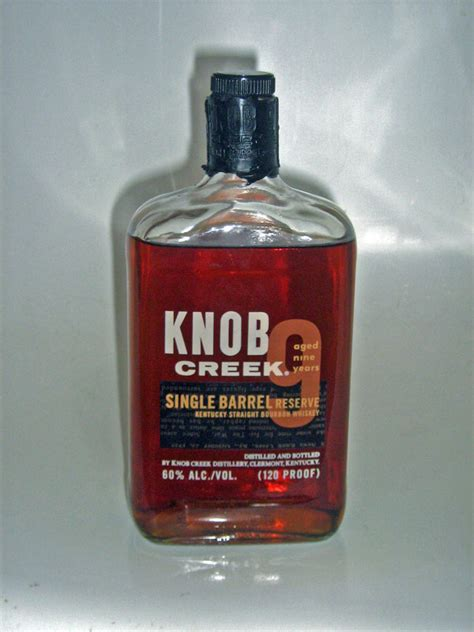 Knob Creek Reviews by Knob Creek Single Barrel Reserve Bourbon Whiskey Review