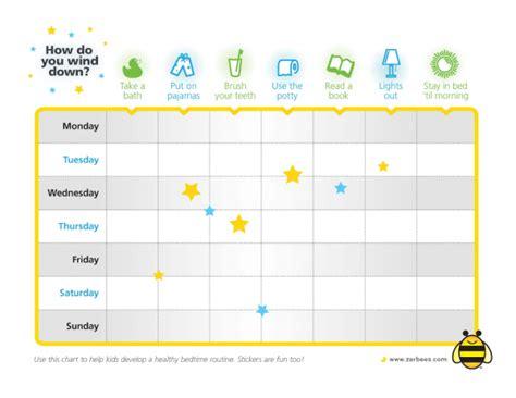 printable sleep reward charts for toddlers healthy bedtime routine ideas for kids printable sleep
