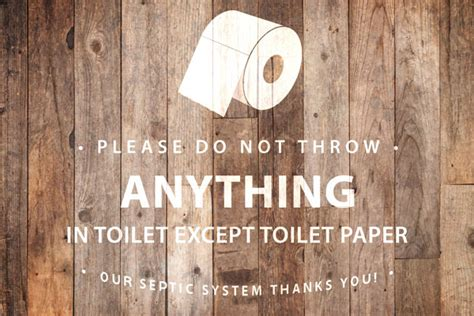 bathroom signs for septic systems septic system bathroom signs and poems for sensitive plumbing