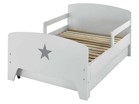 Lit Enfant A Conforama by Lit 233 Volutif 90x140 170 200 Cm Coloris Blanc Vente