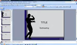 free gym and fitness powerpoint templates