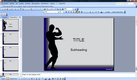 Free Gym And Fitness Powerpoint Templates Fitness Powerpoint Presentation Templates