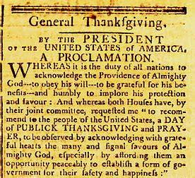 november 26 thanksgiving november 26 1789 first national thanksgiving holiday