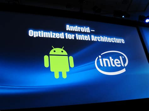 intel android is intel trying to make android on the pc mainstream
