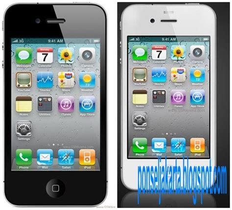 Handphone Iphone 4 ulasan handphone jakarta review dan spesifikasi handphone