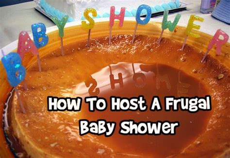 How To Host Baby Shower by How To Host A Frugal Baby Shower Bargainmoose Canada