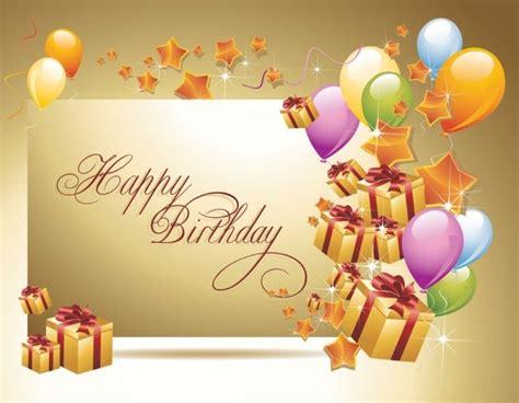 happy birthday tarpaulin design free download happy birthday postcard 02 vector free vector in
