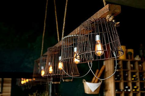 Wire For Light Fixtures 10 Ways To Enlighten Your Upcycling Household Products To Light Fixtures