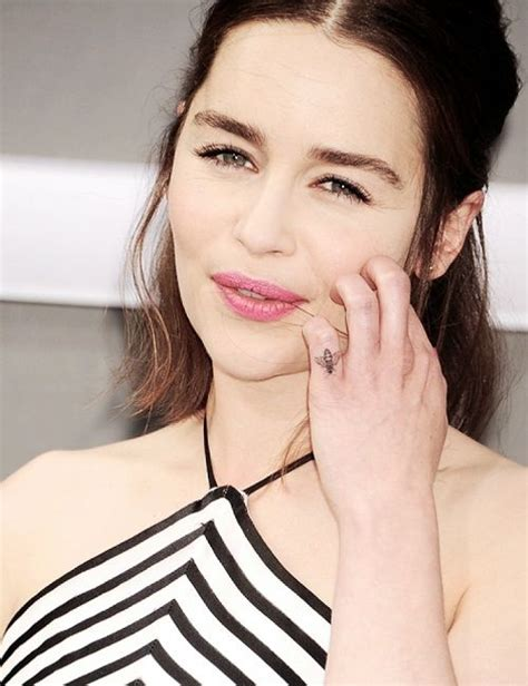 emilia clarke tattoo megan fox s 9 tattoos their meanings guru