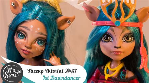 ooak doll tutorial faceup tutorial 37 isi dawndancer ooak high