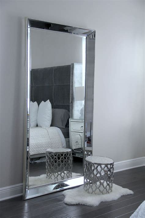 antique leaner mirror for your room decoration ideas