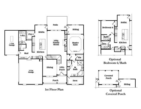 Cooper Floor Plans cooper a se reliant homes new homes in atlanta