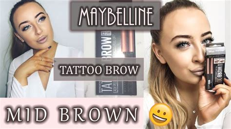 tattoo brow maybelline review boots full demo and honest review maybelline tattoo eyebrow