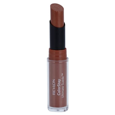 Lipstik Revlon Suede revlon cosmetics colorstay ultimate suede velvet