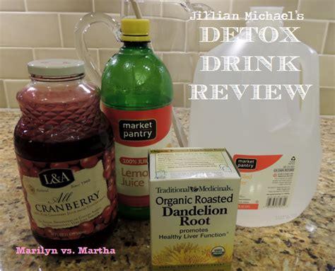 Jillian Water Detox Reviews by Marilyn Vs Martha Jillian Michael S Detox Water Review