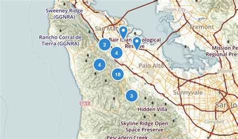 map of redwood city california best trails near redwood city california alltrails
