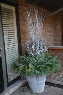 best 25 winter planter ideas on