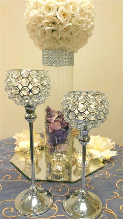 Table Candle Holders Centerpieces Centerpieces