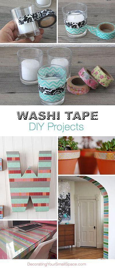 diy washi tape crafts washi tape diy projects trusper