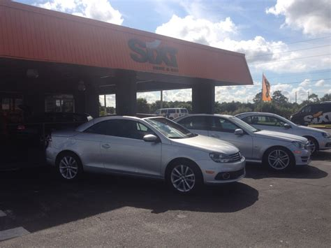 Rent A Car In Port Fl by Orlando Florida Sixt Car Rental Review Use This Agency