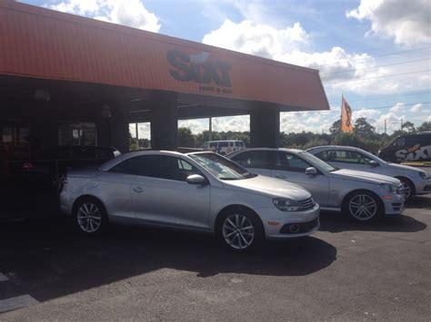 orlando florida sixt car rental review use this agency