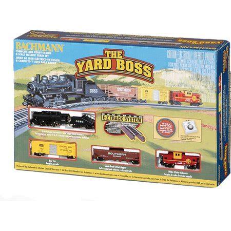 bachmann n scale train yard boss electric train set